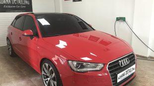 Audi A3 Gtechniq CSL Uygulaması